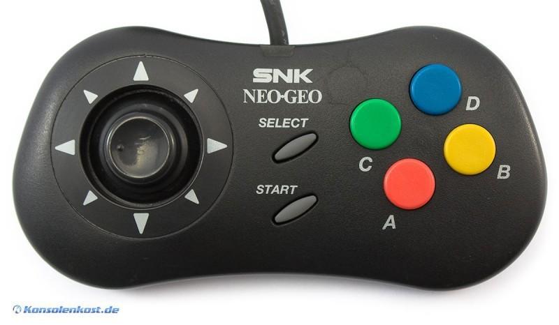Neo Geo CD - Original Controller #schwarz [SNK]