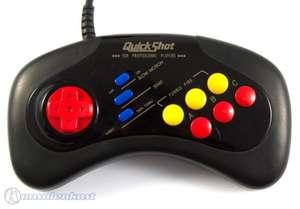 6 Button Controller mit Turbo #schwarz QS-171 [Quickshot]