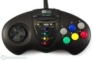 6 Button Controller / Pad mit Turbo & Slowmotion #schwarz Megapad VI GL-SN2 [Saitek]