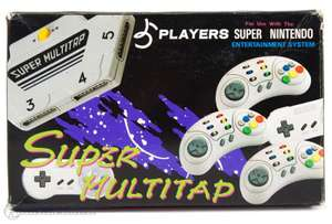 Super Multitap / Multiplayer Adapter [Players]