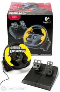 Lenkrad / Racing / Steering Wheel mit Pedale #schwarz Formula GP Racing Wheel [Logitech]