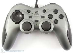 Controller / Pad mit Turbo #silber Extreme Action [Logitech]