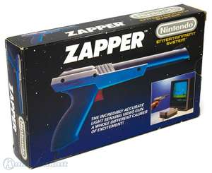 Original Zapper Lightgun #grau [Nintendo]