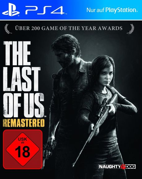 PS4 - The Last of Us: Remastered [Standard]