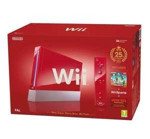Konsole #New Super Mario Bros. + Spiele + Original Remote Plus + Zubehör