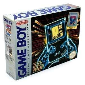 Konsole + Tetris & Linkkabel #grau Classic 1989 DMG-01
