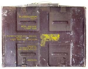 Light Gun / Pistole / Phaser mit Pedal #camouflage Real Arcade Gun [Joytech]