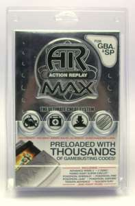 Action Replay Max für GBA + SP + DS