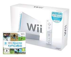 Konsole #weiß Sports Pak + Wii Sports + Original Remote + Zubehör