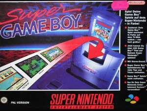 Super GameBoy Adapter SNSP-027 für Mario, Tetris, Pokemon usw.