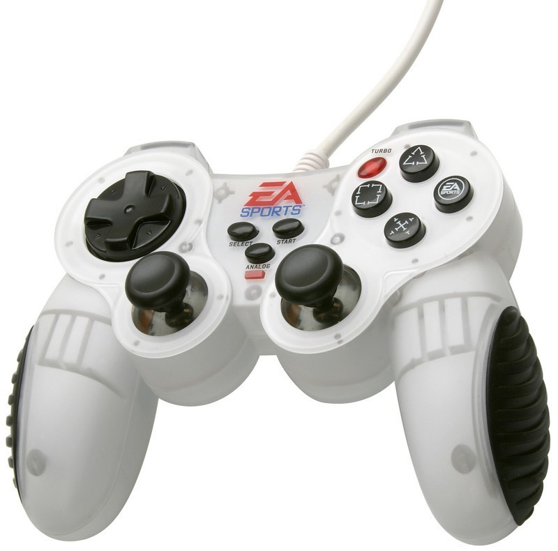 Controller / Pad #weiß Analog Gamepad [EA Sports]