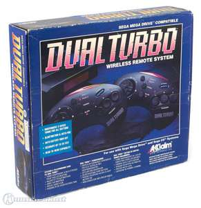 2 Wireless Controller mit Turbo & Slowmotion #schwarz Dual Turbo [Acclaim]