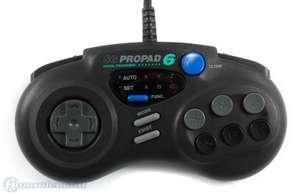 Controller / Pad #schwarz ProPad 6