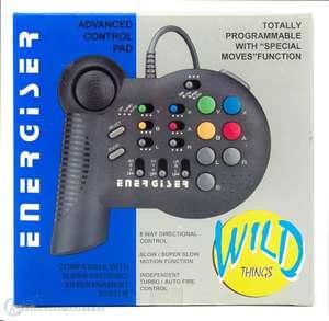 Controller / Pad Energiser mit Turbo, Slow, Autofire und Macros #schwarz [Wild Things]