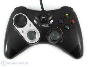 Controller / Pad mit Rumble Funktion #schwarz Cyborg Rumble P3600 [Saitek]