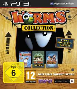 Worms Collection: Drei Tolle Worms-Spiele