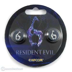 Analog Thumb Grips / Aufsatz für Analogsticks - Resident Evil 6 Special Limited Edition [Capcom]