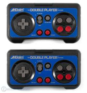 2 Wireless Controller / Pads + Empfänger #The Double Player System [Acclaim]