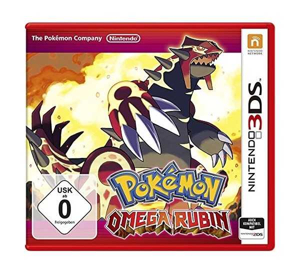 Pokemon: Omega Rubin / Omega Ruby