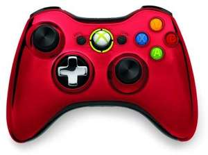 Original Wireless Controller #Chrome Red / rot [Microsoft]