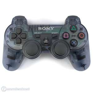Original DualShock 3 Wireless Controller #Slate Grey / transparent-grau [Sony]