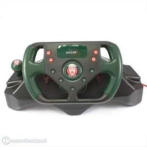 Lenkrad / Racing / Steering Wheel #grün-schwarz Jaguar / SPC888 [4Gamers]