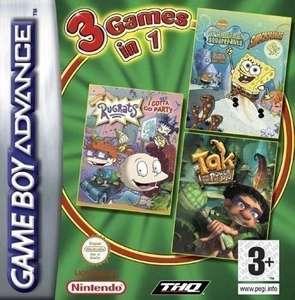 3 in 1: SpongeBob: Supersponge + Rugrats Party + Tak: Power of Juju