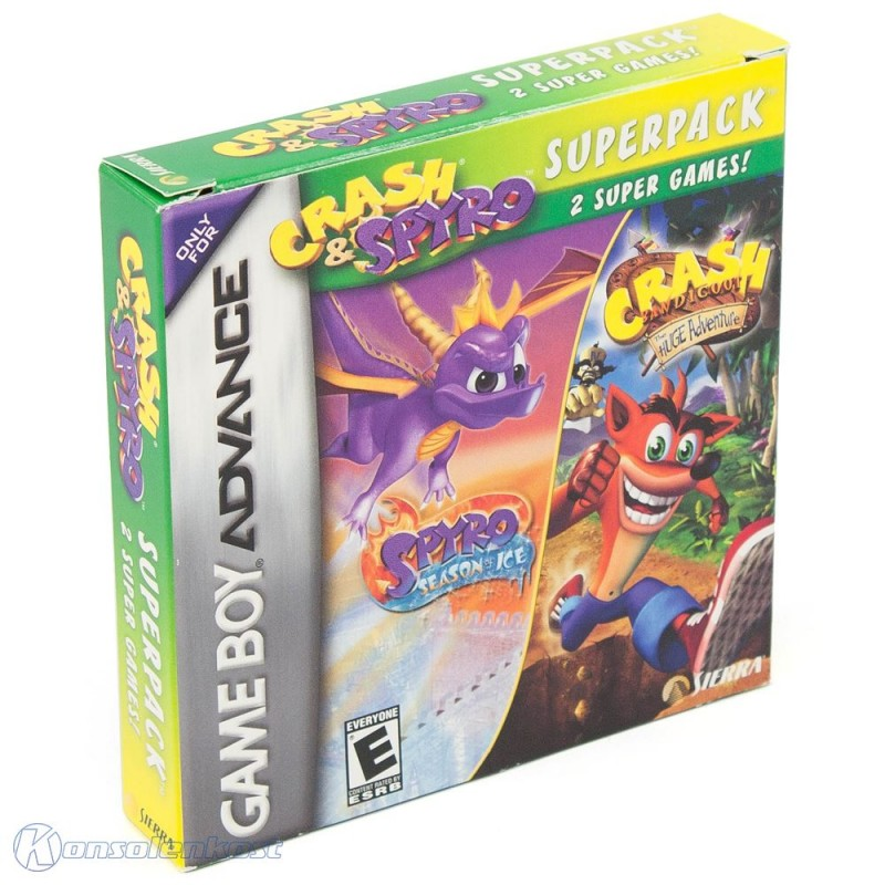 Crash & Spyro Super Pack Vol. 4