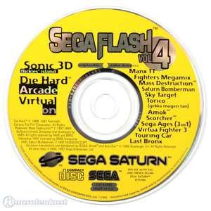 Sega Flash Vol. 4 - Demo CD