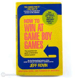 Spieleberater / Lösungsbuch How to win at Game Boy Games