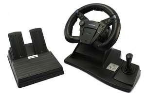 Lenkrad & Pedale / Analog Steering Wheel [Logic 3]