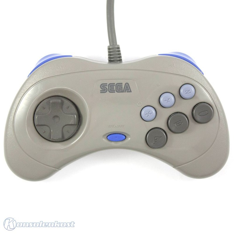 Saturn - Original Controller / Control Pad 2G #grau HSS-0101 [Sega]