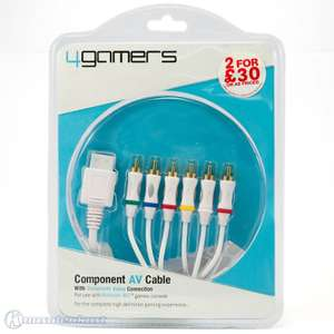 Komponentenkabel / Component Cable mit AV-Video Switch [4Gamers]