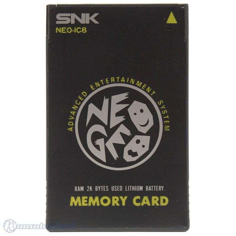 Neo Geo AES - Original Memory Card 2K RAM NEO-IC8 [SNK]