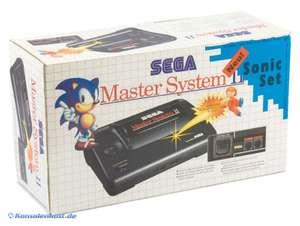 Konsole MS 2 #Sonic Edition RGB Mod + Original Controller + Scartkabel + Netzteil