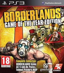 Borderlands #Game of the Year Edition