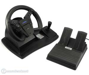 Lenkrad / Racing / Steering Wheel mit Pedale #Top Drive [Logic3]