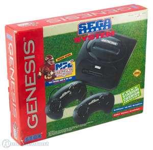 Konsole Genesis 1 #NFL 94 Set + 2 Controller + Zubehör
