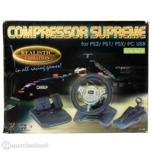 USB Lenkrad / Racing / Steering Wheel #Compresor Supreme