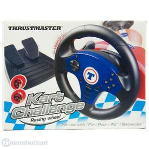 Lenkrad / Racing / Steering Wheel mit Pedale #Kart Challenge [Thrustmaster]