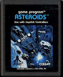 Asteroids #Blacklabel