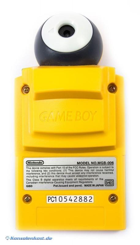 GameBoy - Pocket Kamera / Camera #gelb