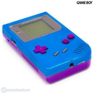 Konsole #Custom Case Mod blau-lila
