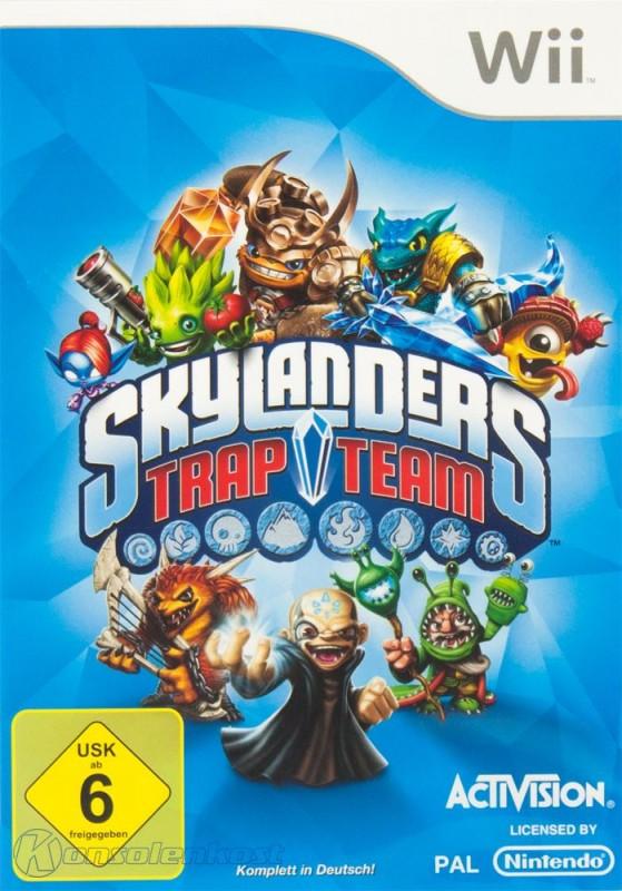 Wii - Skylanders: Trap Team