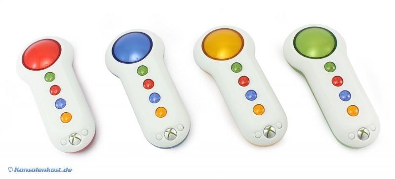 4 Big Buttons Pad Buzzer Wireless