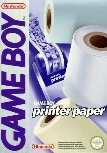 3 Rollen GameBoy Printer Druckerpapier