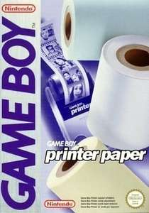 3 Rollen GameBoy Printer Druckerpapier