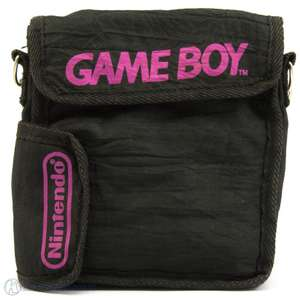 Original Tasche / Carry Case / Travel Bag #schwarz-rosa [Nintendo]