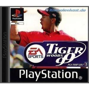 Tiger Woods 99 PGA Tour Golf