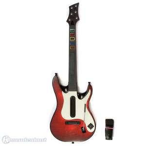 Guitar Hero: World Tour Controller / Gitarre / Guitar #rot [Fender Stratocaster]